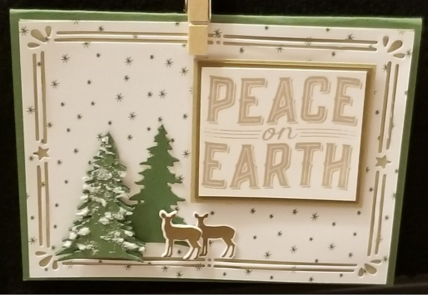 peace on earth with deer