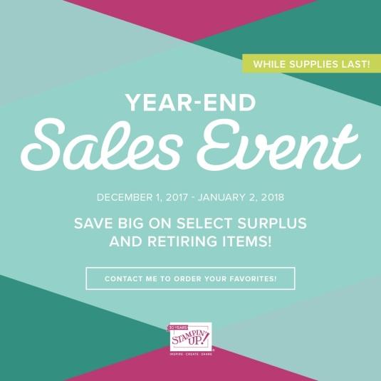 sales event dec 2017