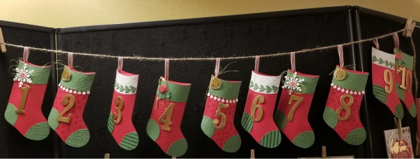 stockings on a string
