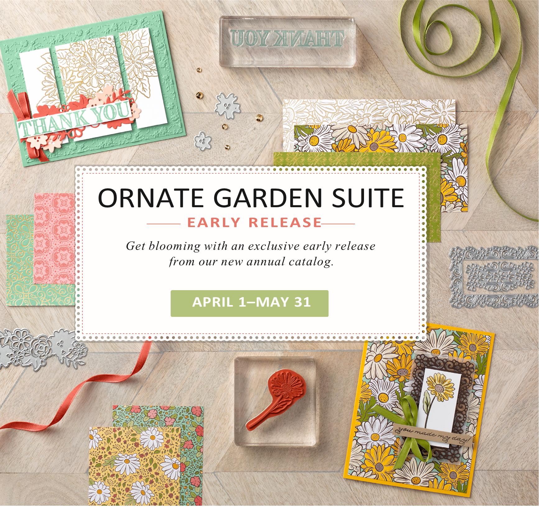 ornate garden flyer cover