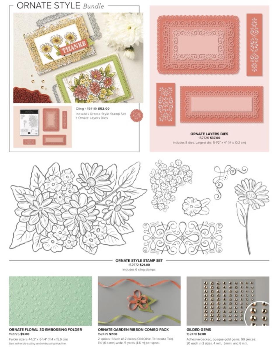 ornate garden flyer